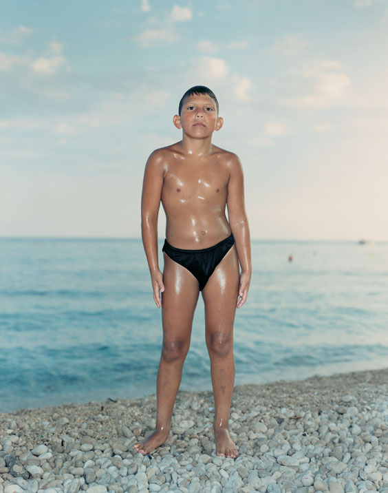 Beach Portrait Dubrovnik Croatia by Rineke Dijkstra