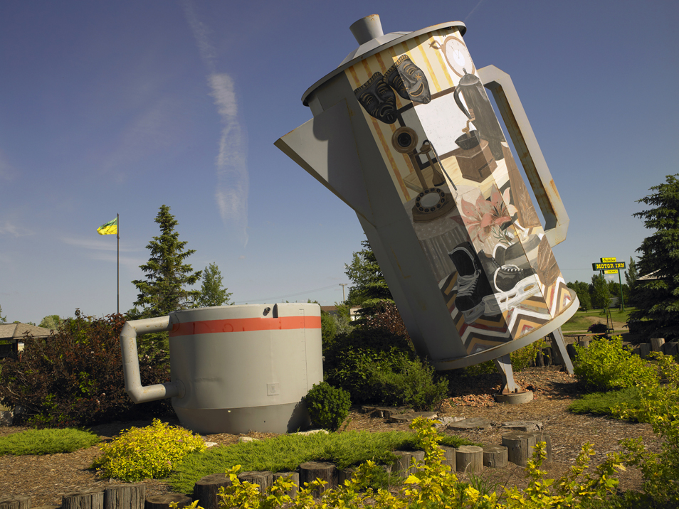 07-05-11 Giant Coffee Pot - Davidson SK13